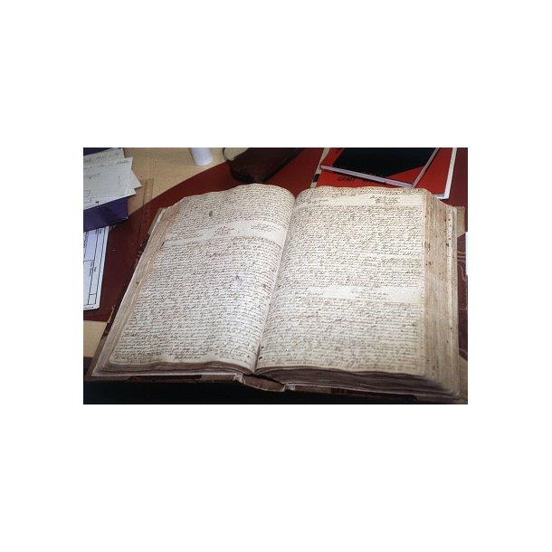 Billet til Gotisk skrift og administrationshistorie